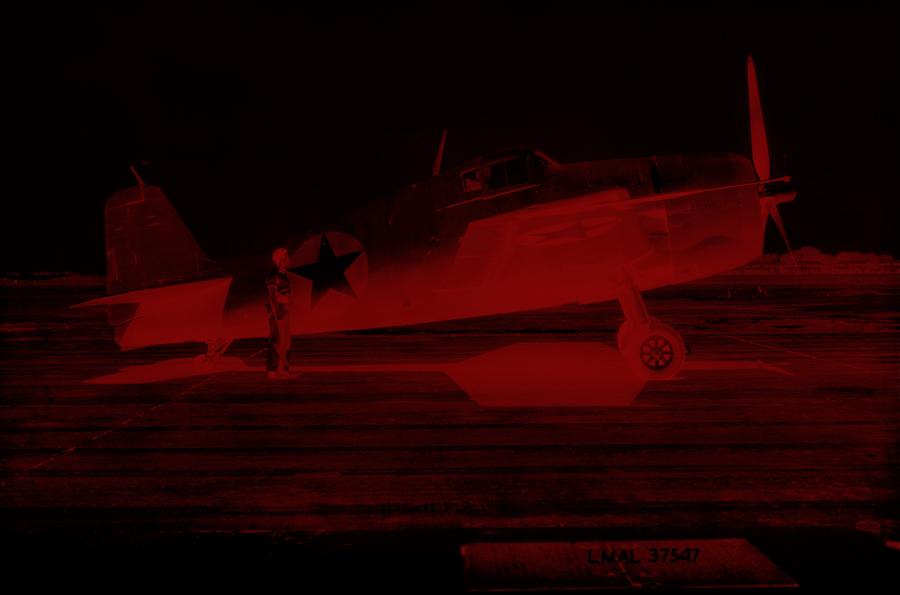 Marcus Bunyan. 'Missing in Action (red kenosis)' 2010
