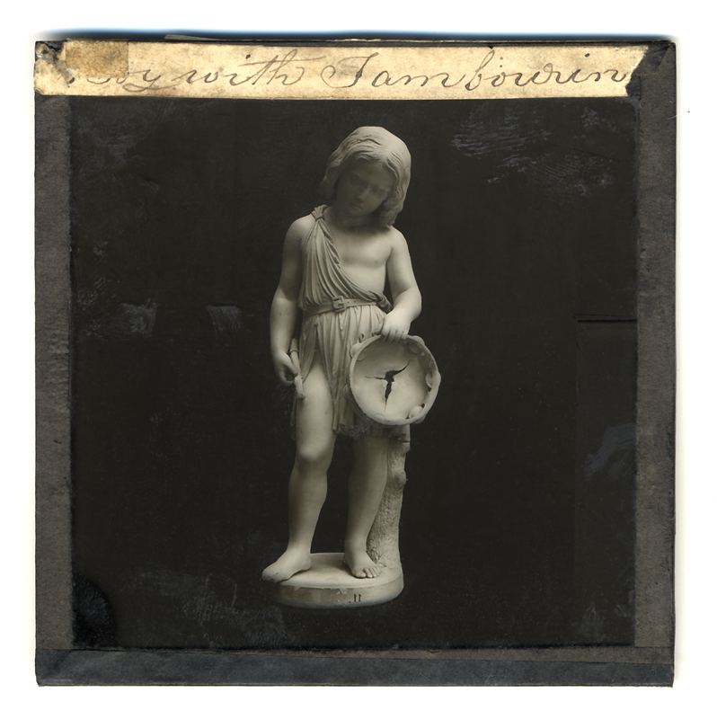 Marcus Bunyan. 'Boy with Tambourine' 2004 from the series 'Neo_mort'