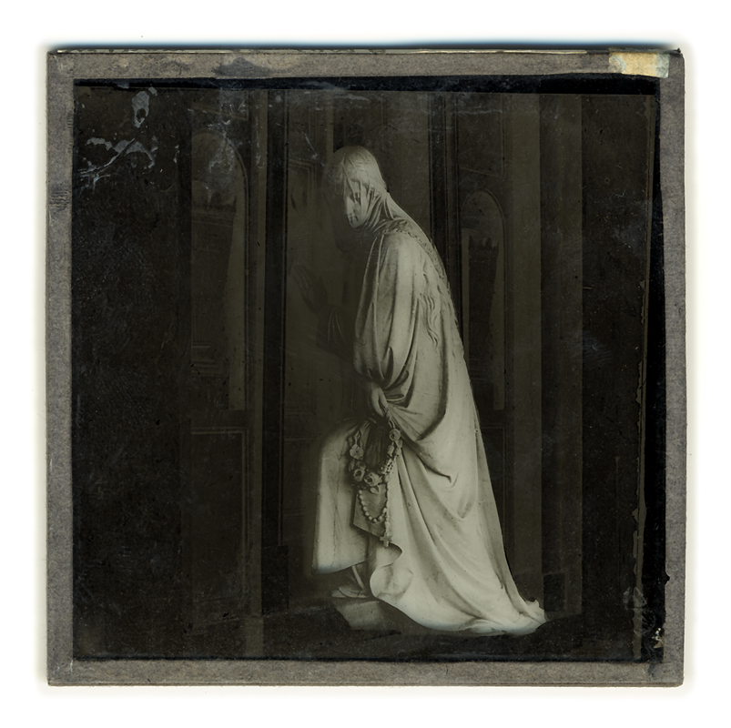 Marcus Bunyan. 'Widow at Tomb' 2004 from the series 'Neo_mort'