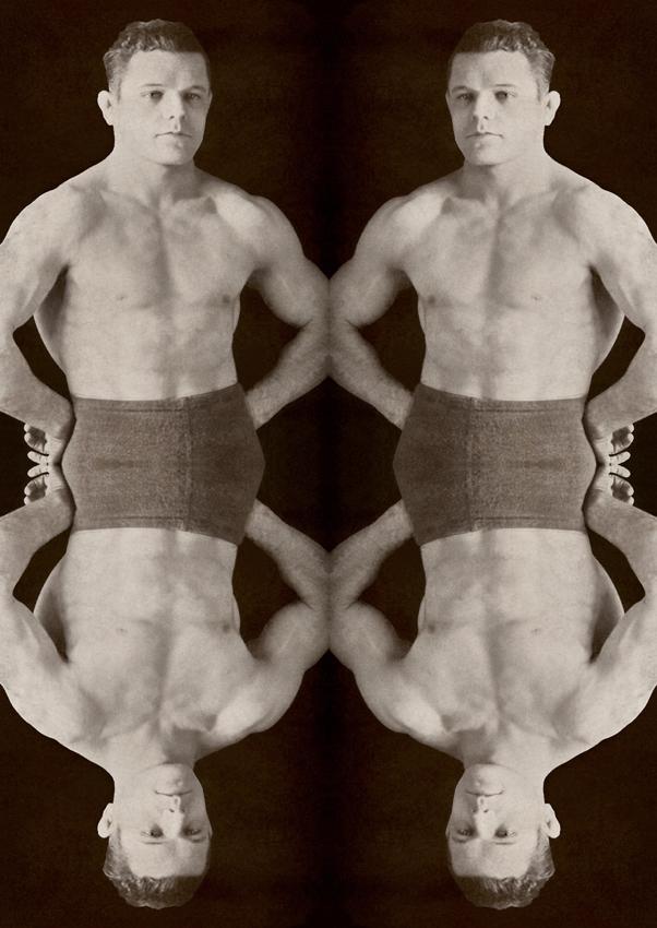 Marcus Bunyan. 'The Wrestlers' 2001